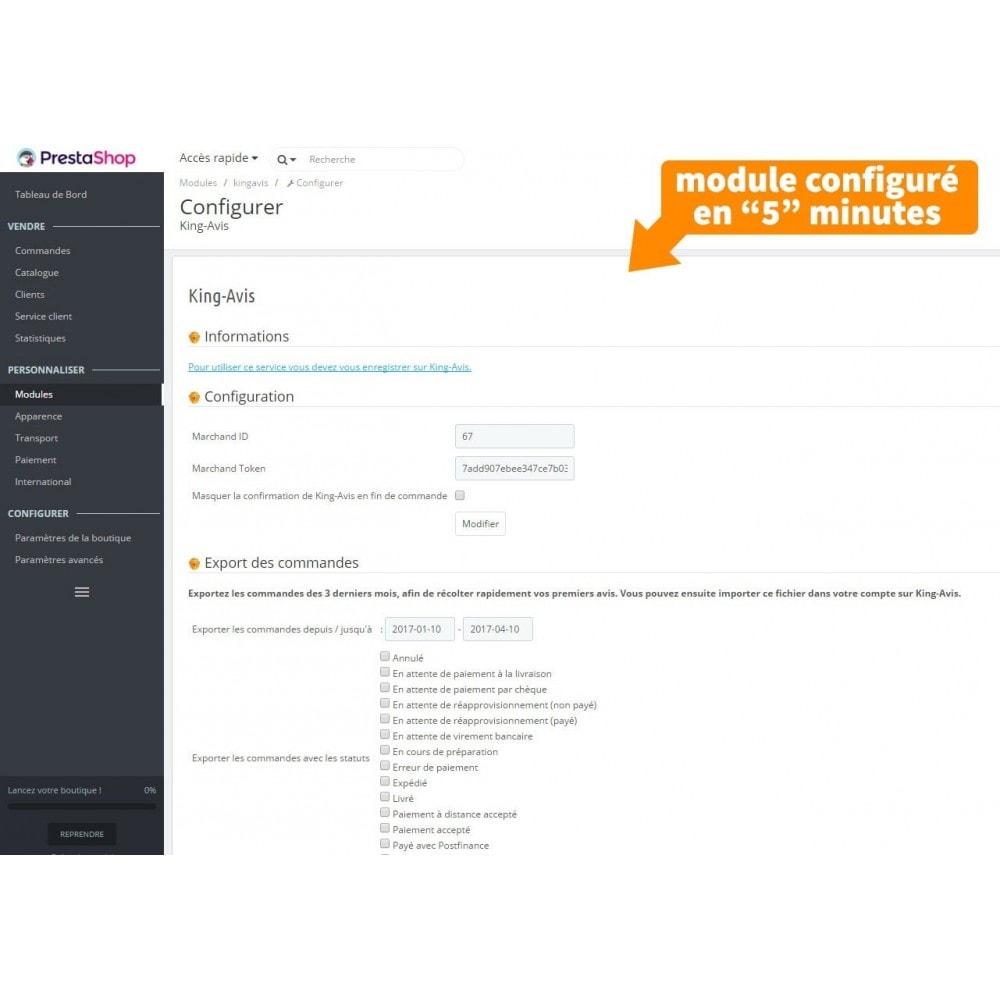 module - Avis clients - King-Avis : Récolte d'avis clients - 6