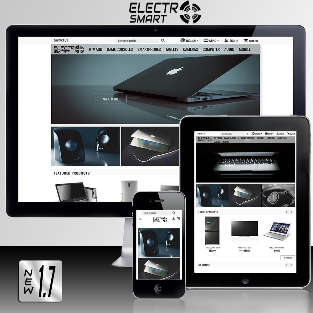 theme - Elektronika & High Tech - Electro Smart - 1