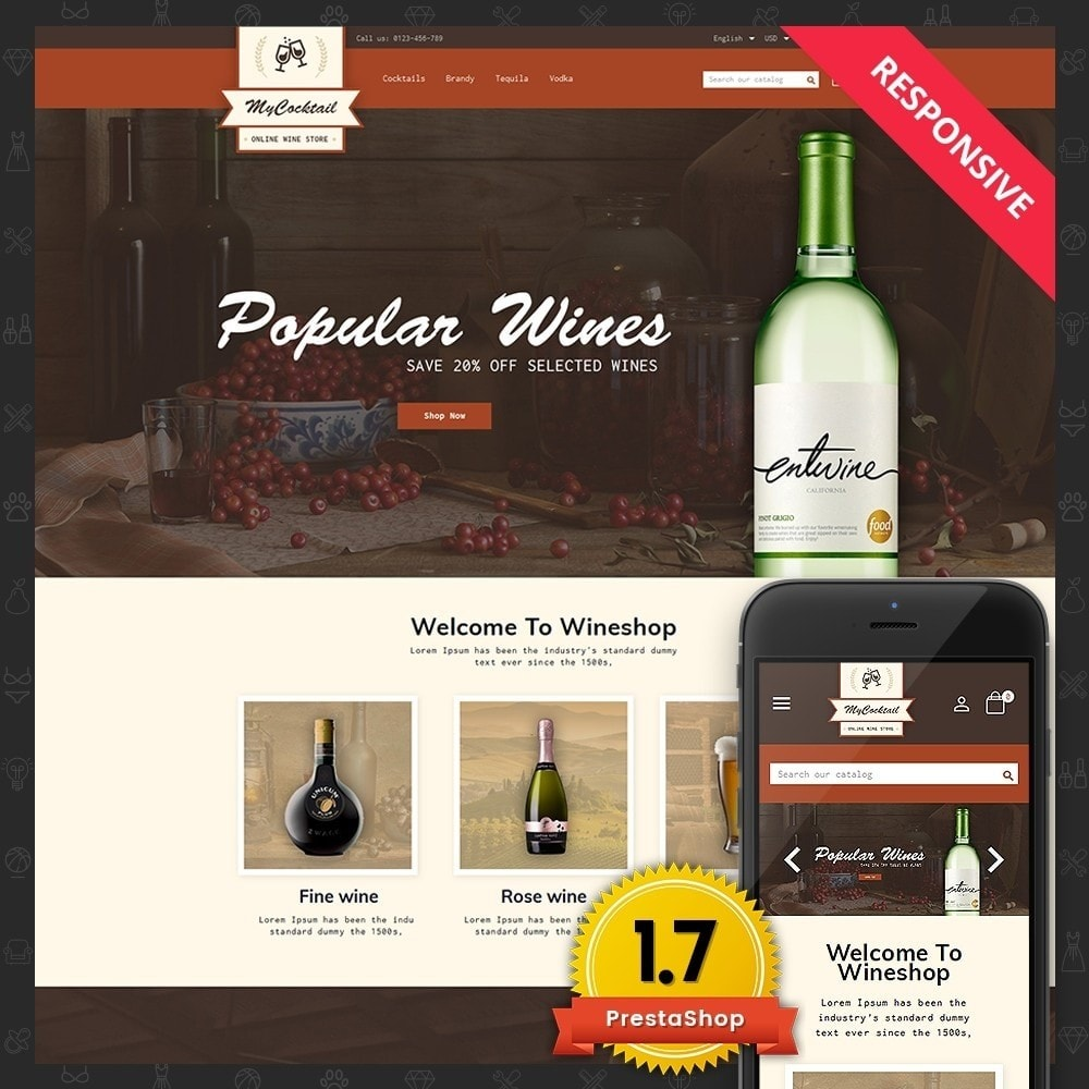theme - Bebidas y Tabaco - My Cocktail Online Store - 1