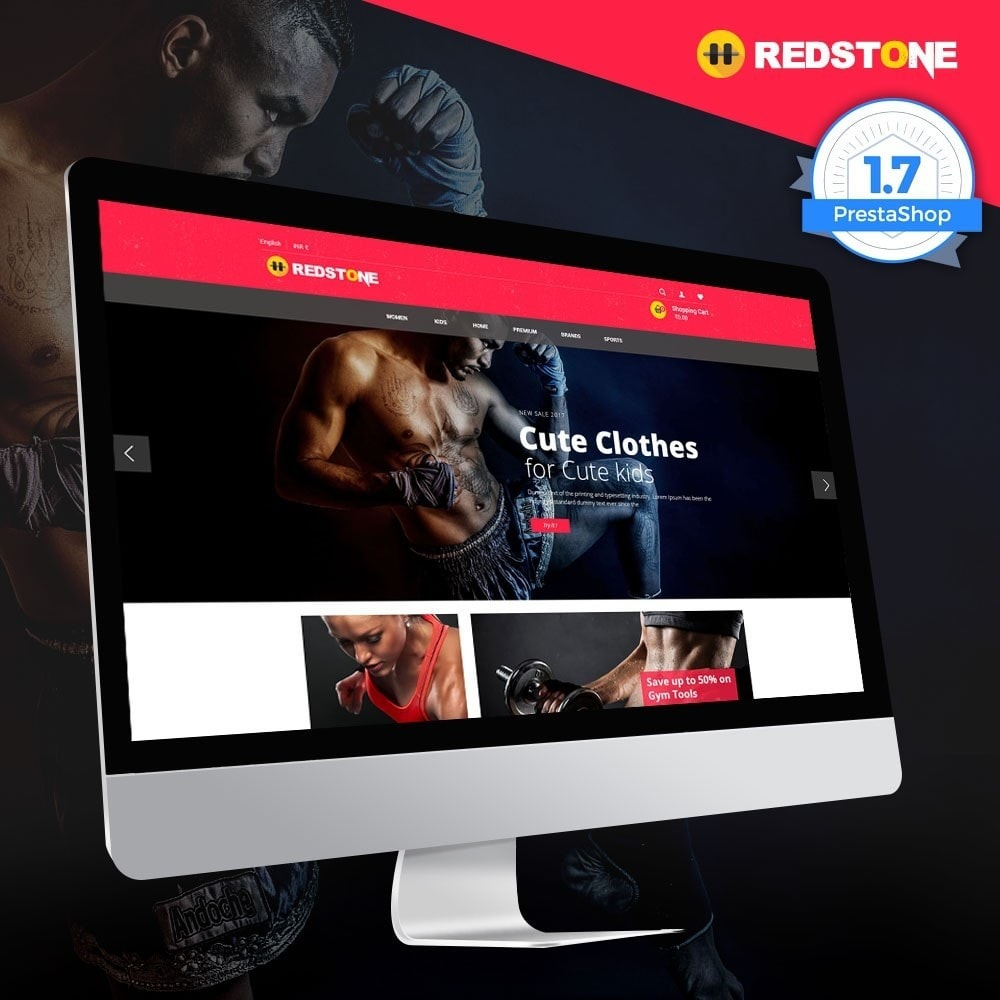 theme - Deportes, Actividades y Viajes - Gym   Multipupose Store - 1