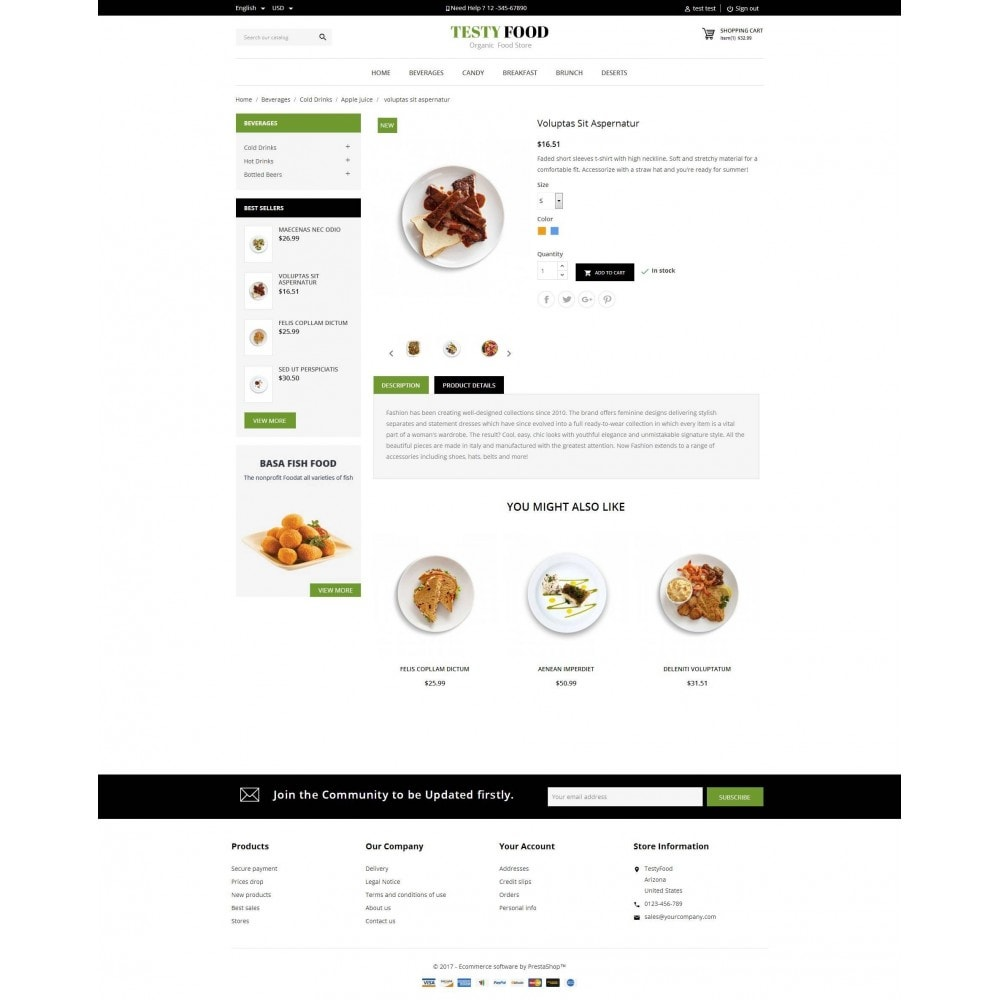 theme - Lebensmittel & Restaurants - TestyFood - 5