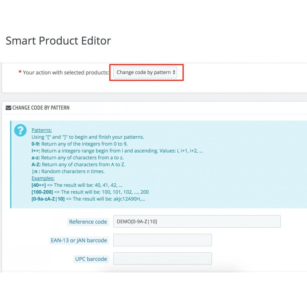 module - Fast & Mass Update - Smart Product Editor - 11