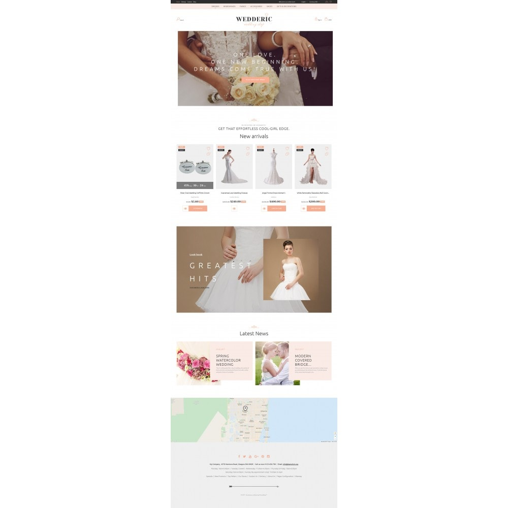 theme - Mode & Chaussures - Wedderic - Wedding Shop Responsive - 10