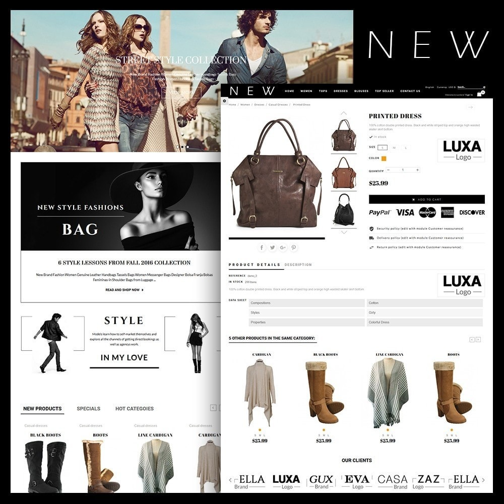 theme - Moda & Calzature - New Style Fashion Store - 1