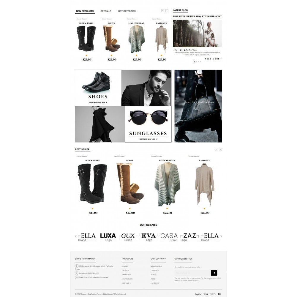 theme - Мода и обувь - New Style Fashion Store - 3