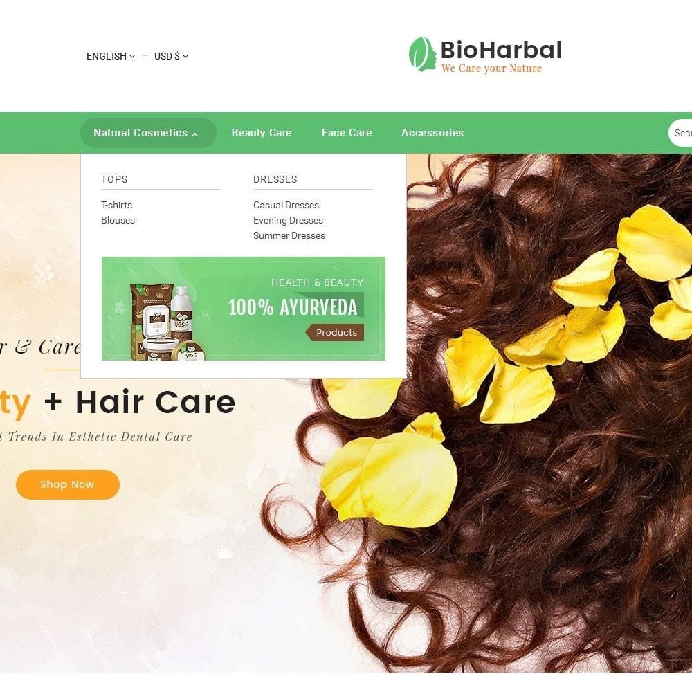theme - Zdrowie & Uroda - Bio Cosmetics Store - 9