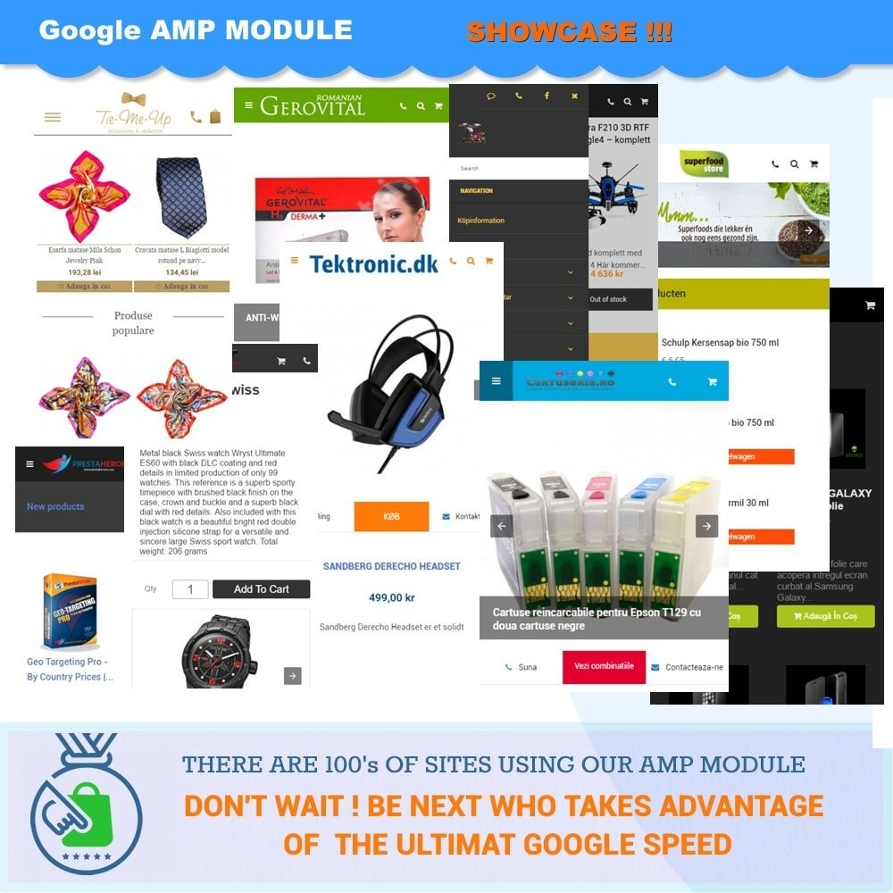 module - Wydajnośc strony - PROFESSIONAL AMP PAGES - ACCELERATED MOBILE PAGES - 14
