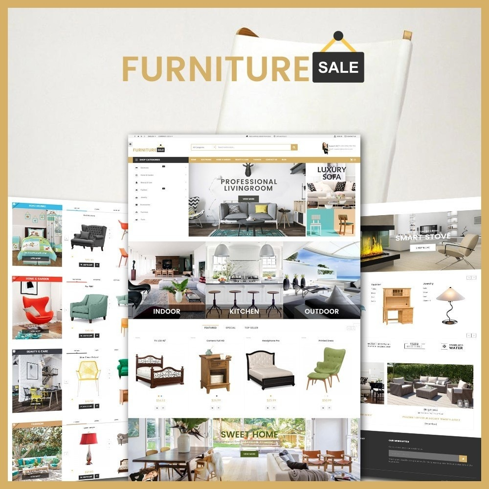 theme - Дом и сад - Furniture Save Showroom - 1