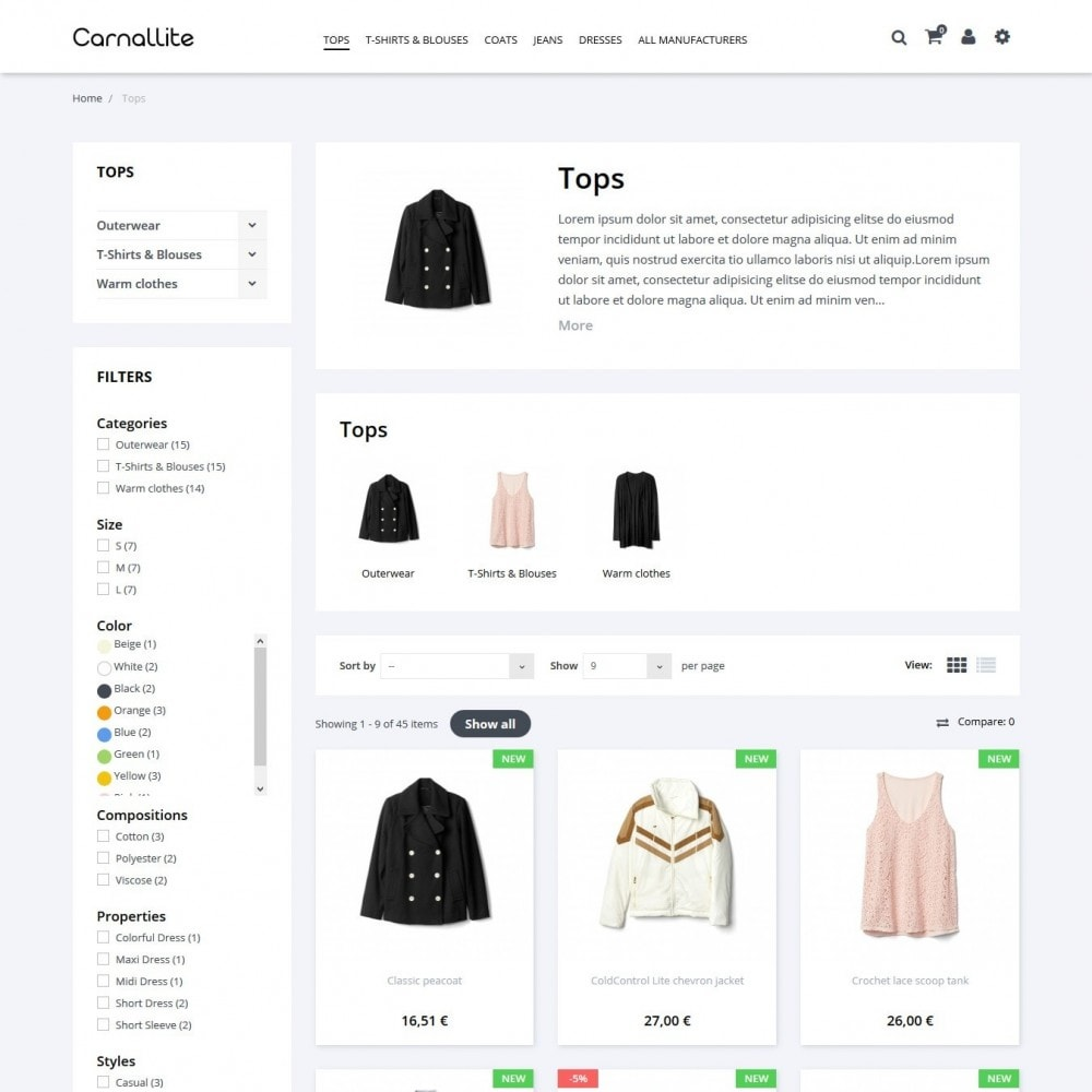 theme - Moda & Calzature - Carnalitte Fashion Store - 5