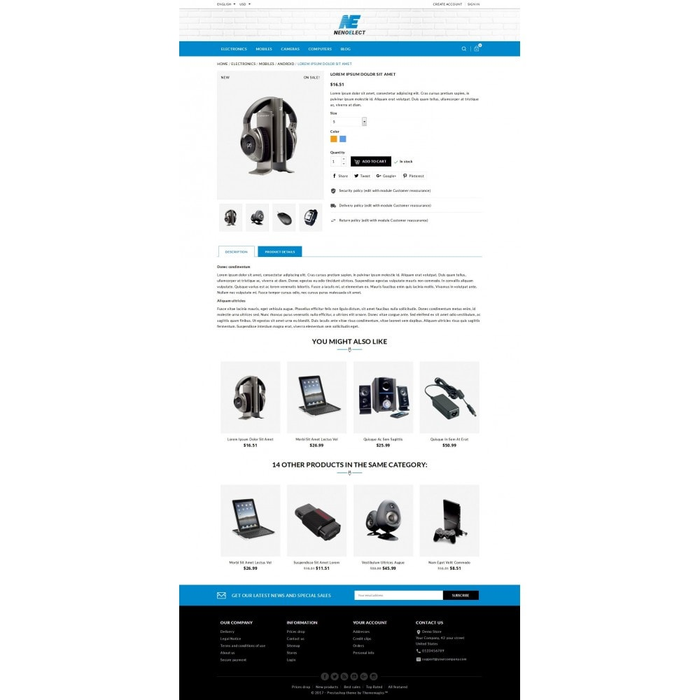 theme - Electronics & Computers - NenoElect - All Electronics Store - 6