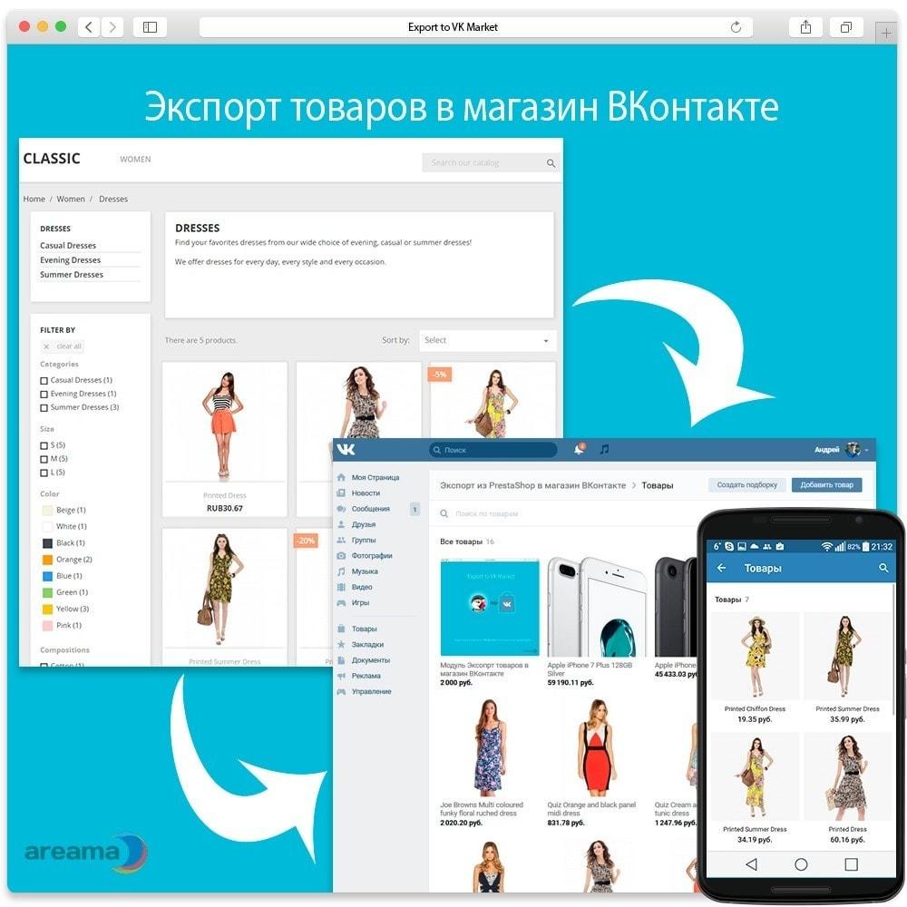 module - Товаров в социальных сетях - Экспорт товаров в магазин Вконтакте - 2