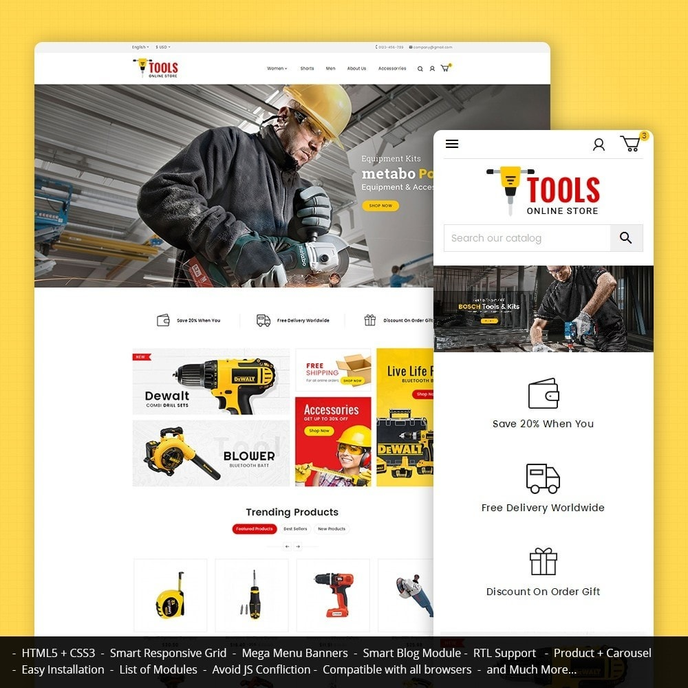 theme - Coches y Motos - Tools Store - 1