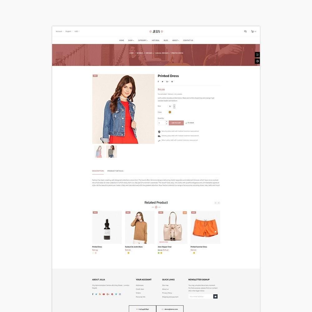 theme - Mode & Schoenen - Julia Fashion - 3