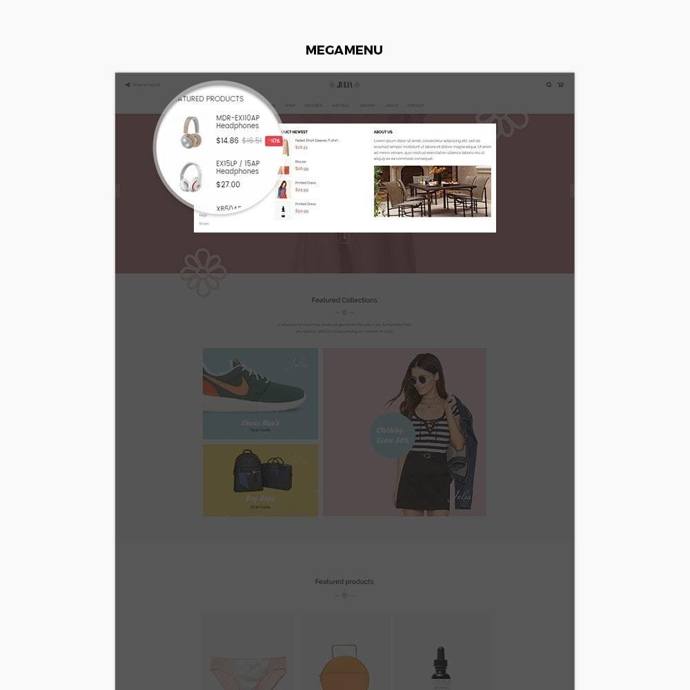 theme - Mode & Schoenen - Julia Fashion - 5