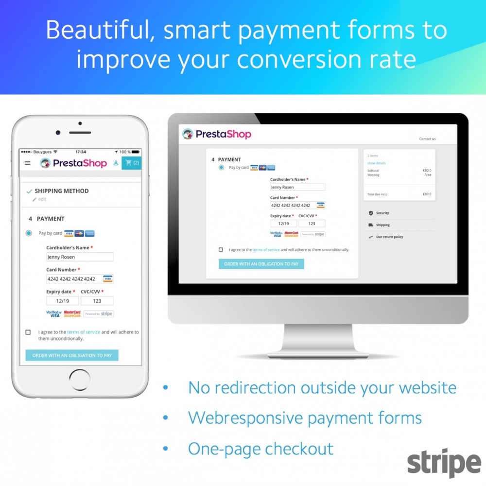 Official Stripe - PrestaShop Addons
