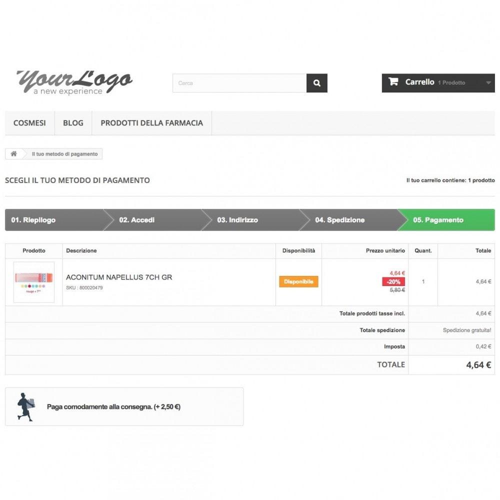 module - Pagamento alla Consegna (in contrassegno) - Contrassegno con fee e pagamento in negozio - 4