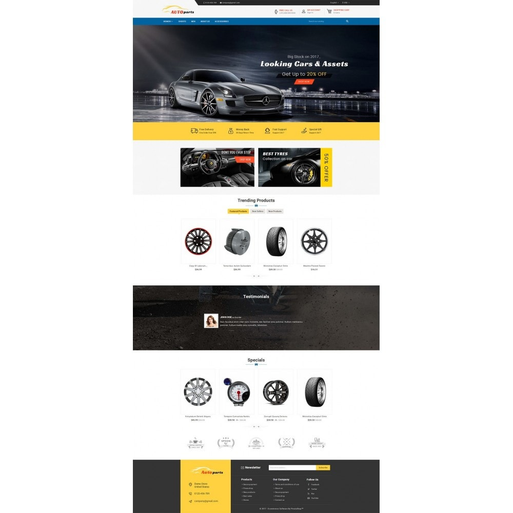 theme - Carros & Motos - Auto Parts - 2