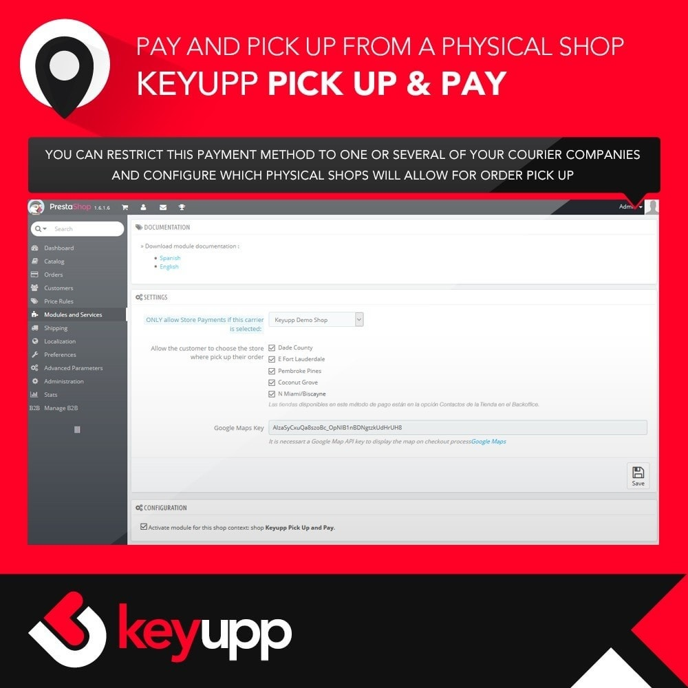 module - Paiement en Magasin - Pick Up & Pay in physical stores - 2