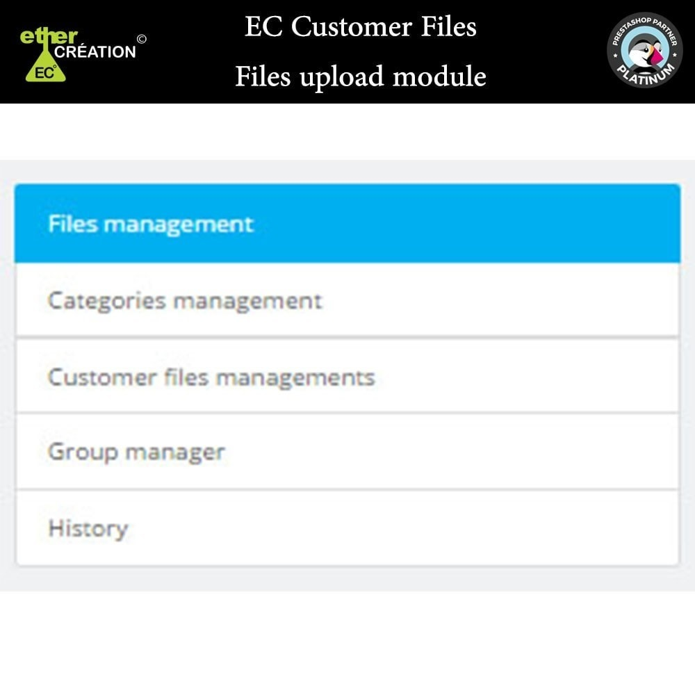 module - Customer Service - Provision of files for customers - 12