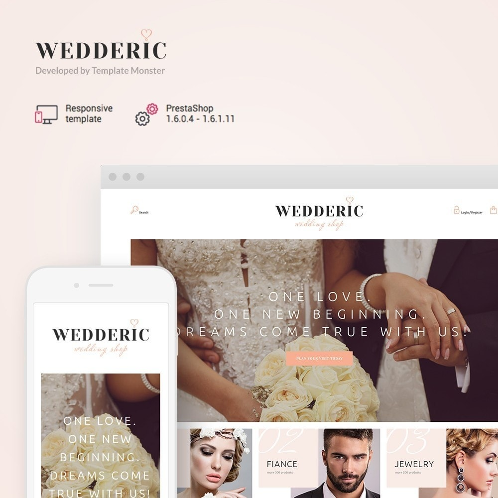 theme - Presentes, Flores & Comemorações - Wedderic - Wedding Shop - 1