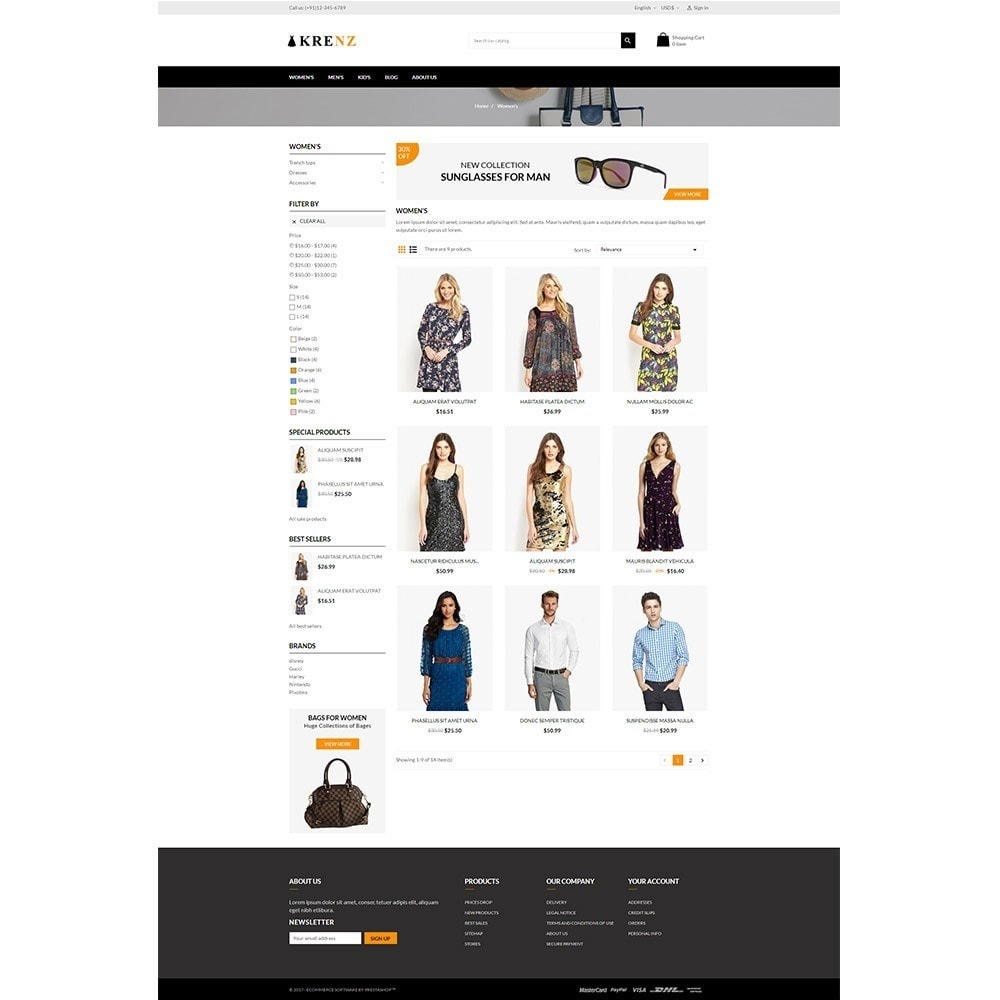 theme - Moda & Obuwie - Krenz - Fashion Store - 3