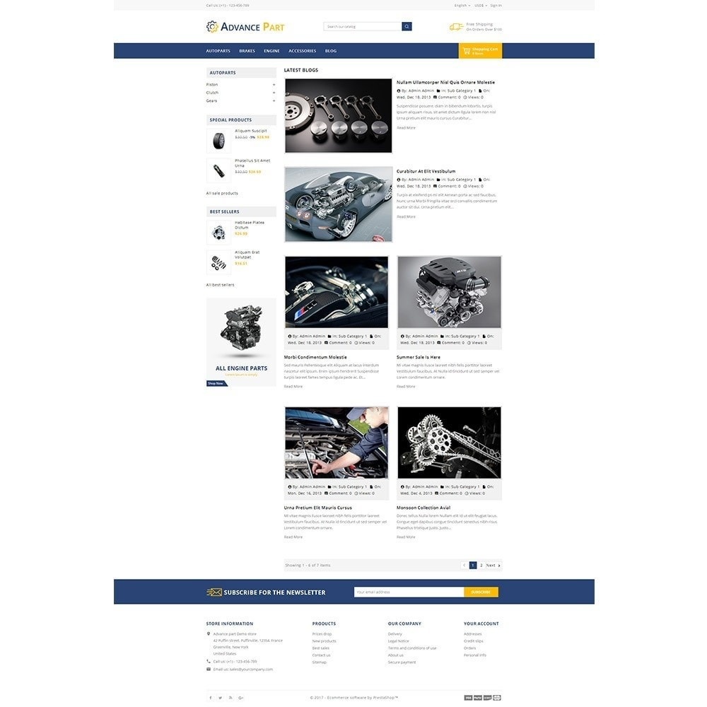 theme - Automotive & Cars - Advance part - 8