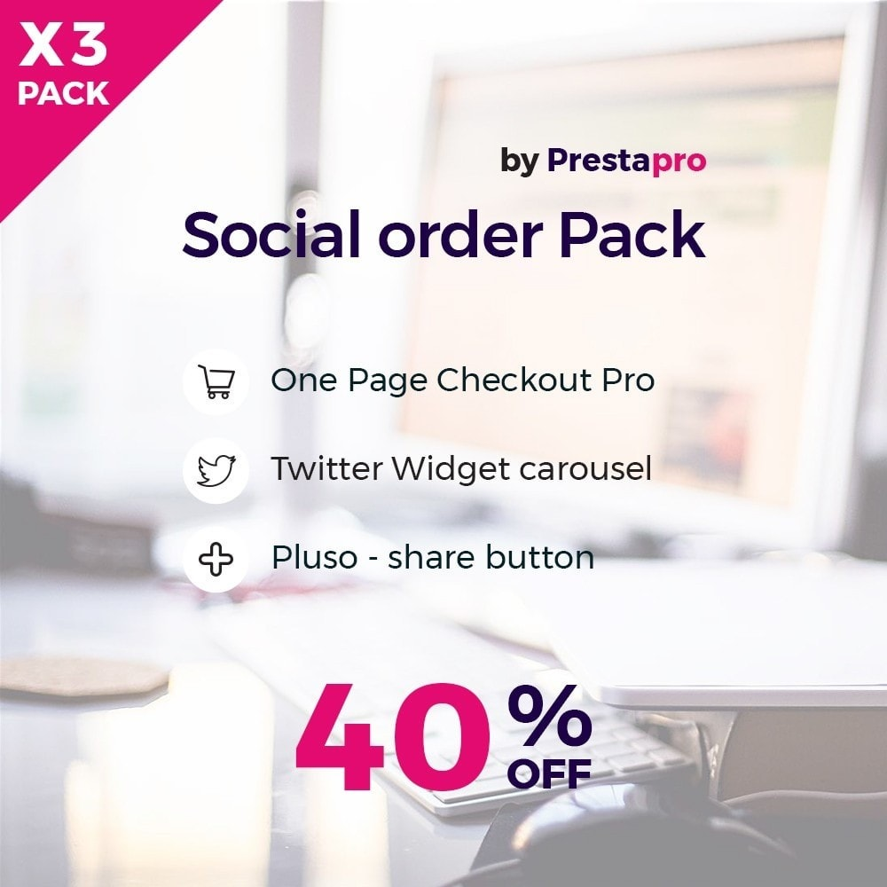 pack - Bestelproces - Social and Quick order Pack - 1