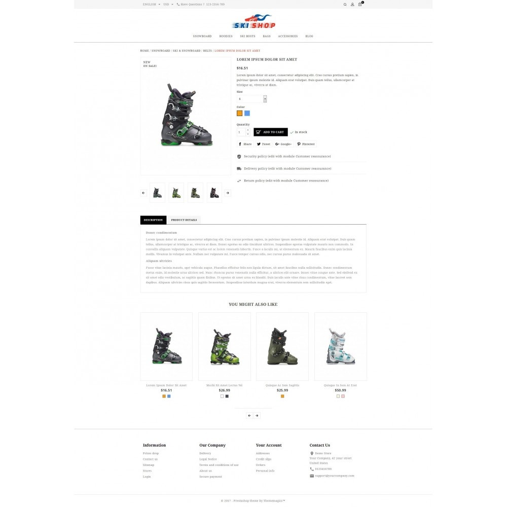 theme - Sport, Loisirs & Voyage - Skishop - Online Ski Store - 6