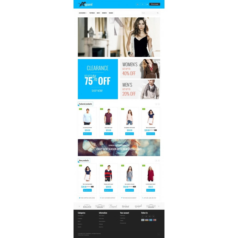 theme - Mode & Chaussures - VP_Apparel Store - 2