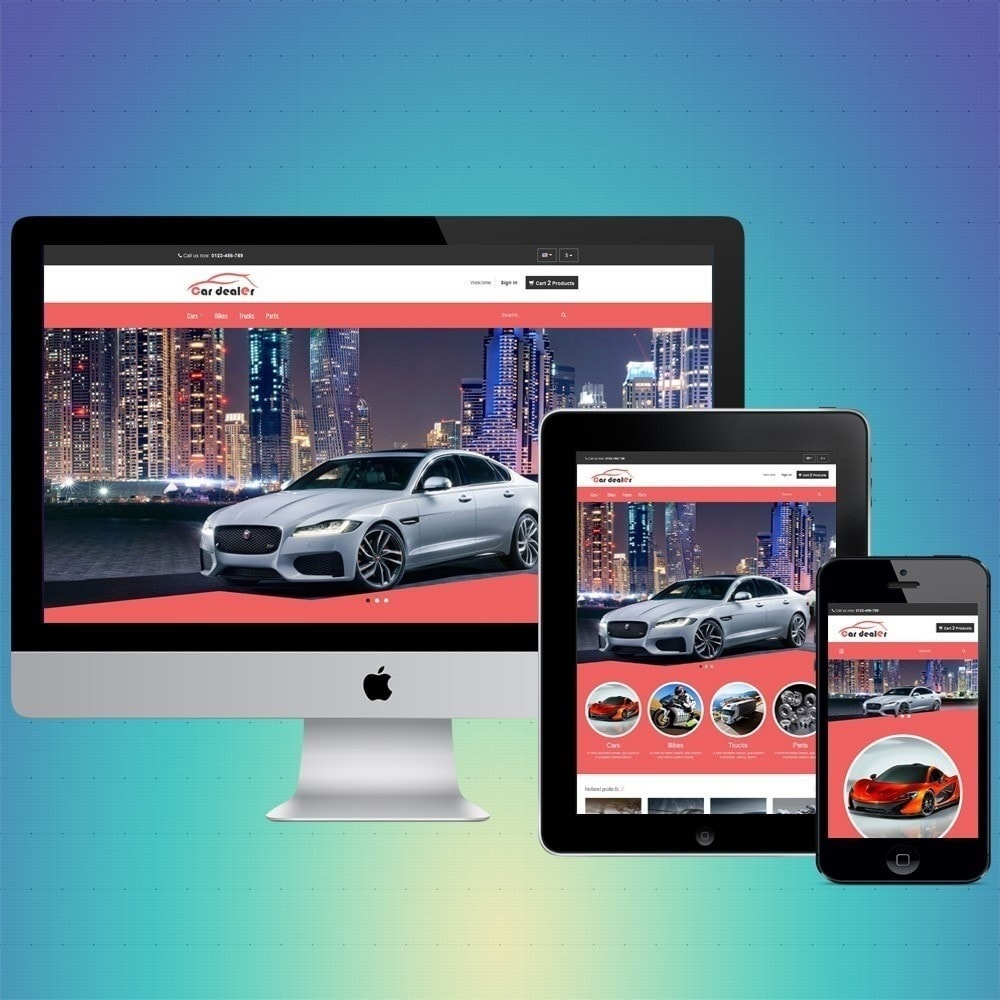 theme - Coches y Motos - VP_CarDealer Store - 1