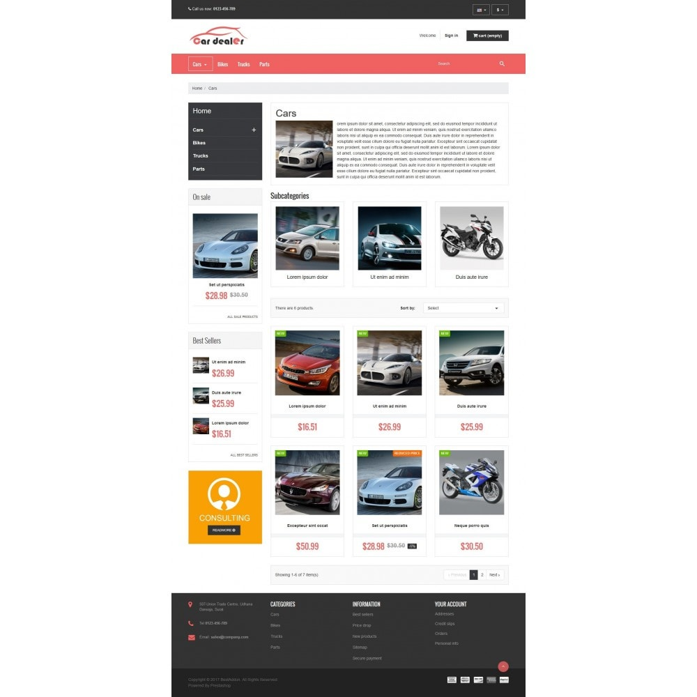 theme - Coches y Motos - VP_CarDealer Store - 3