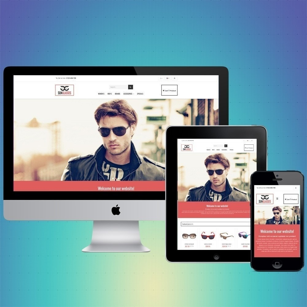 theme - Jewelry & Accessories - VP_SunGlasses Store - 1