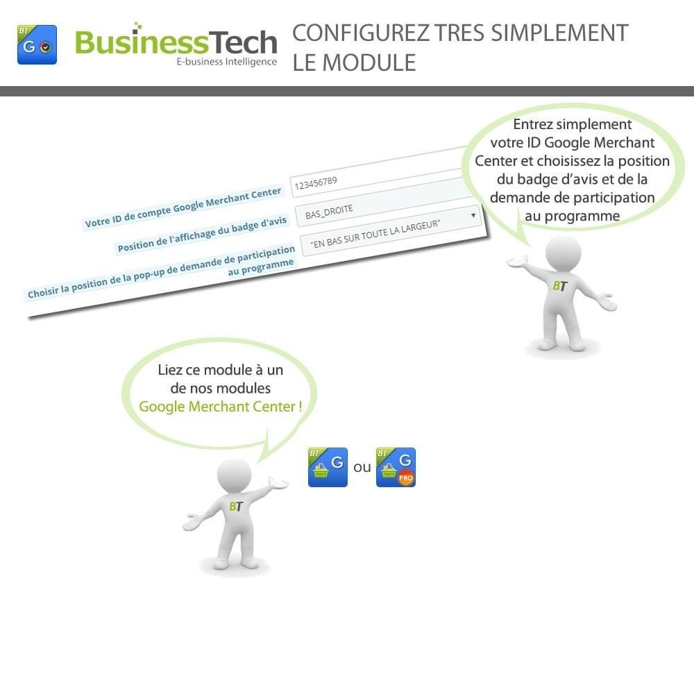 module - Fidélisation & Parrainage - Google Avis Clients (Google Customer Reviews) - 3