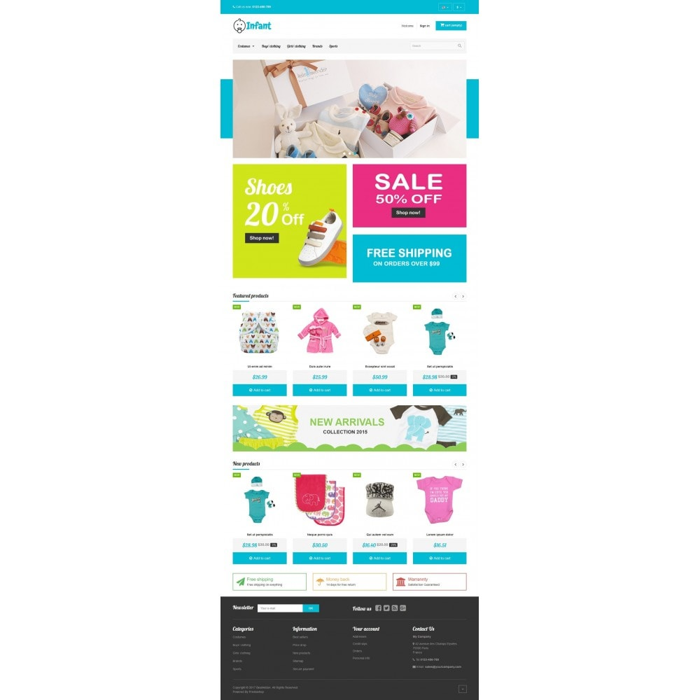 theme - Enfants & Jouets - VP_Infant Store - 2