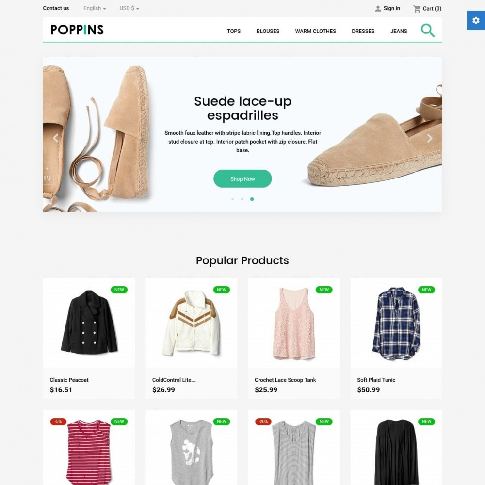 theme - Moda & Calçados - Poppins Fashion Store - 2