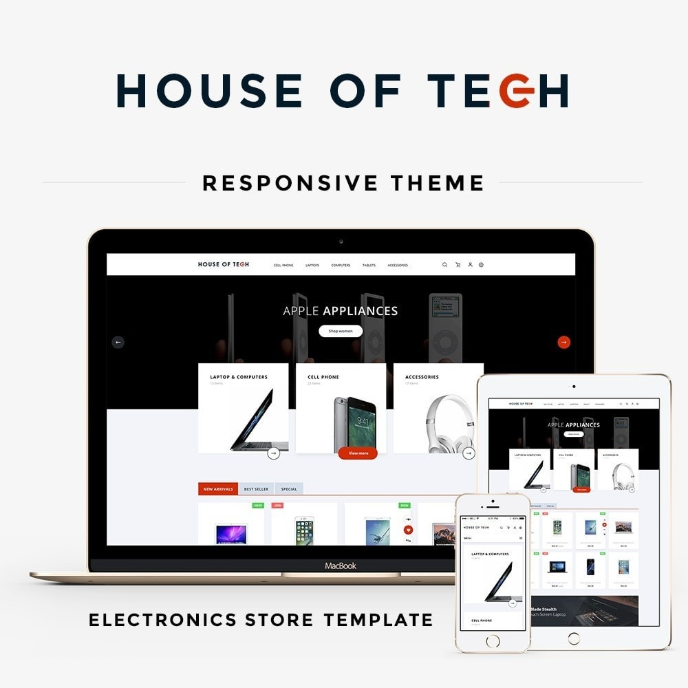 theme - Elektronika & High Tech - House of tech - High-tech Shop - 1