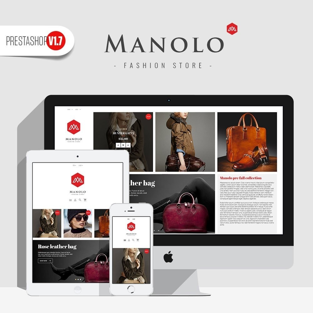 theme - Fashion & Shoes - Manolo Fashion - 1