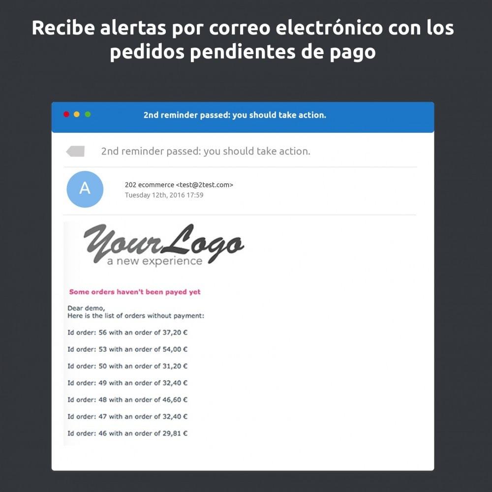 module - E-mails y Notificaciones - Recordatorio de pago - 2