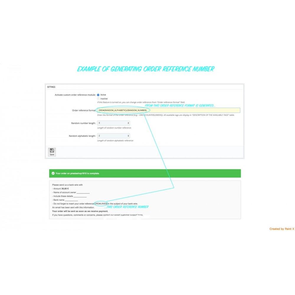 module - Gestión de Pedidos - Número de pedido personalizado y su configuración - 1