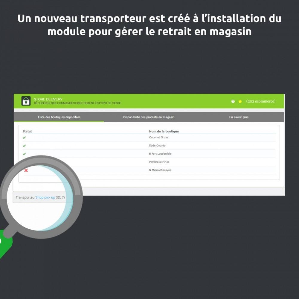 module - Point Relais & Retrait en Magasin - Store Delivery : Disponibilité et livraison en magasin - 5