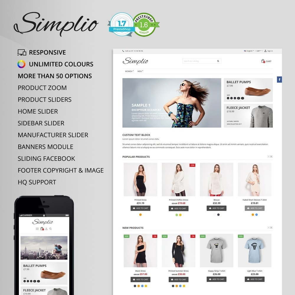 theme - Fashion & Shoes - Simplio - 1
