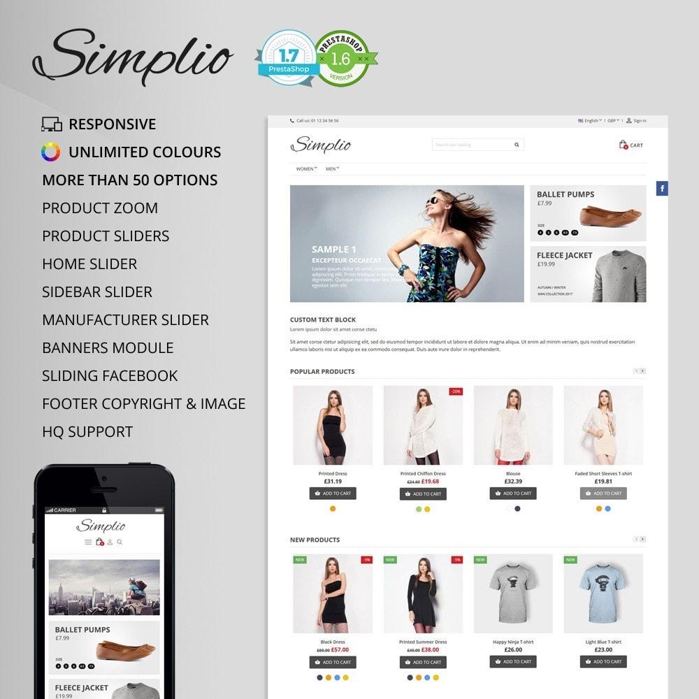 theme - Mode & Chaussures - Simplio - 1