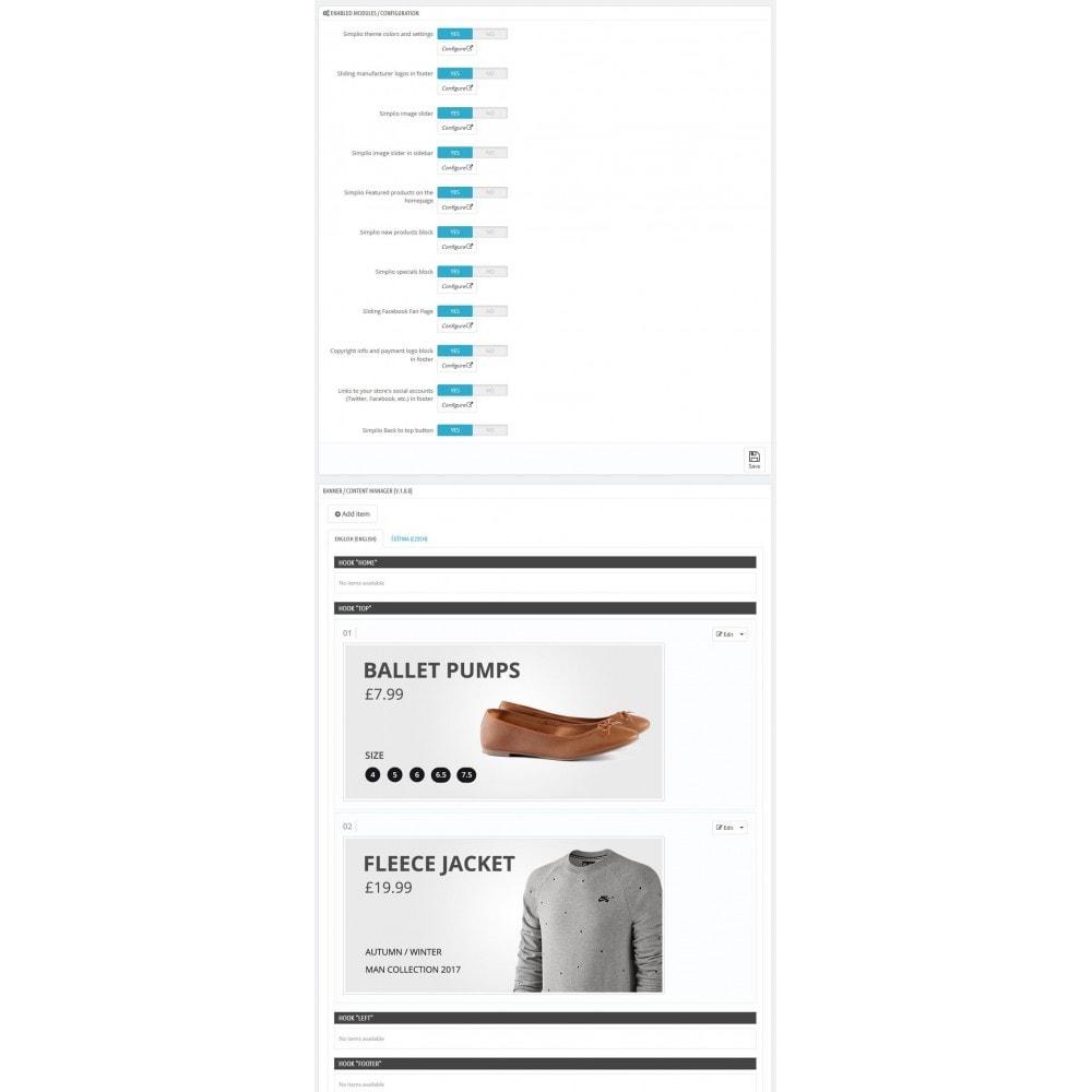 theme - Mode & Chaussures - Simplio - 19