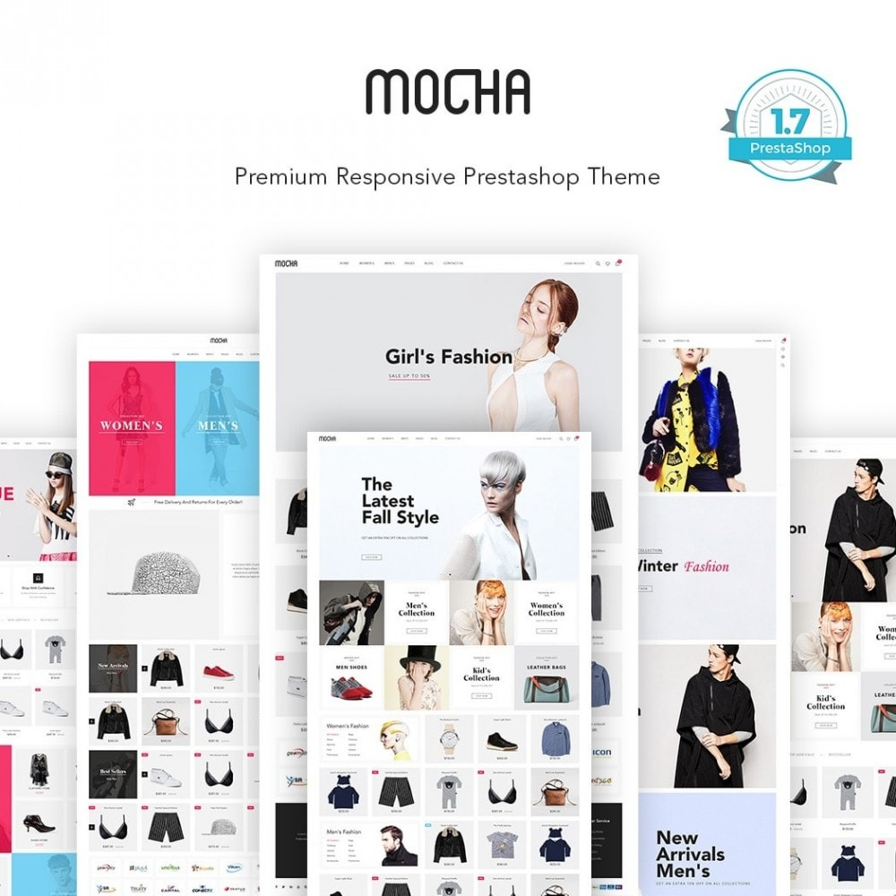 theme - Fashion & Shoes - JMS Mocha II - 1