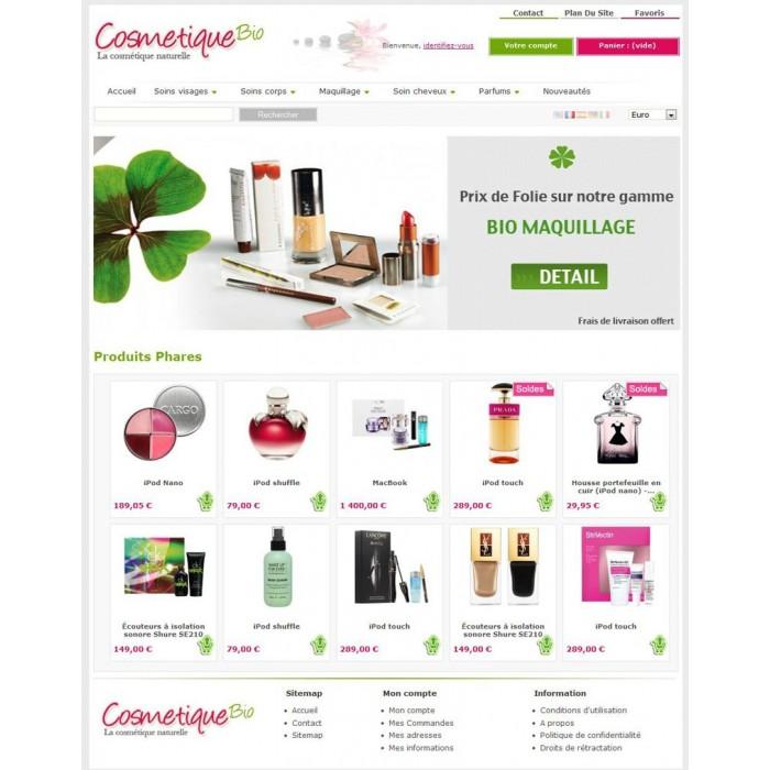 theme - Bio & Salute - CosmetiqueBio - 1