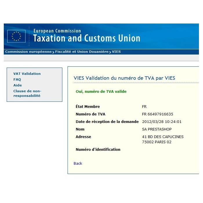 module - Klantendienst - EU VAT and client group - 4