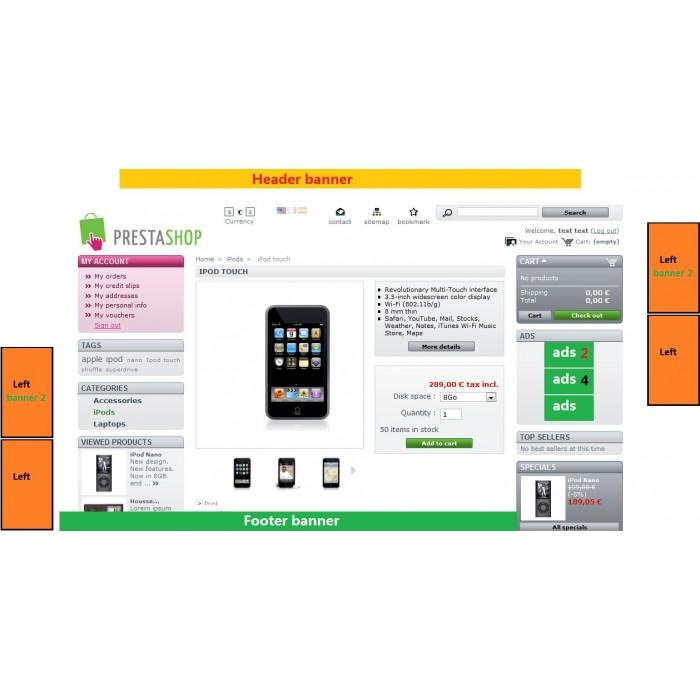 module - Blocos, Guias & Banners - Banner (ads) uploader v2 + Extra - 5