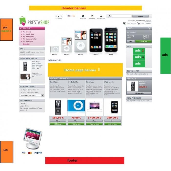 module - Blocos, Guias & Banners - Banner (ads) uploader v2 + Extra - 6