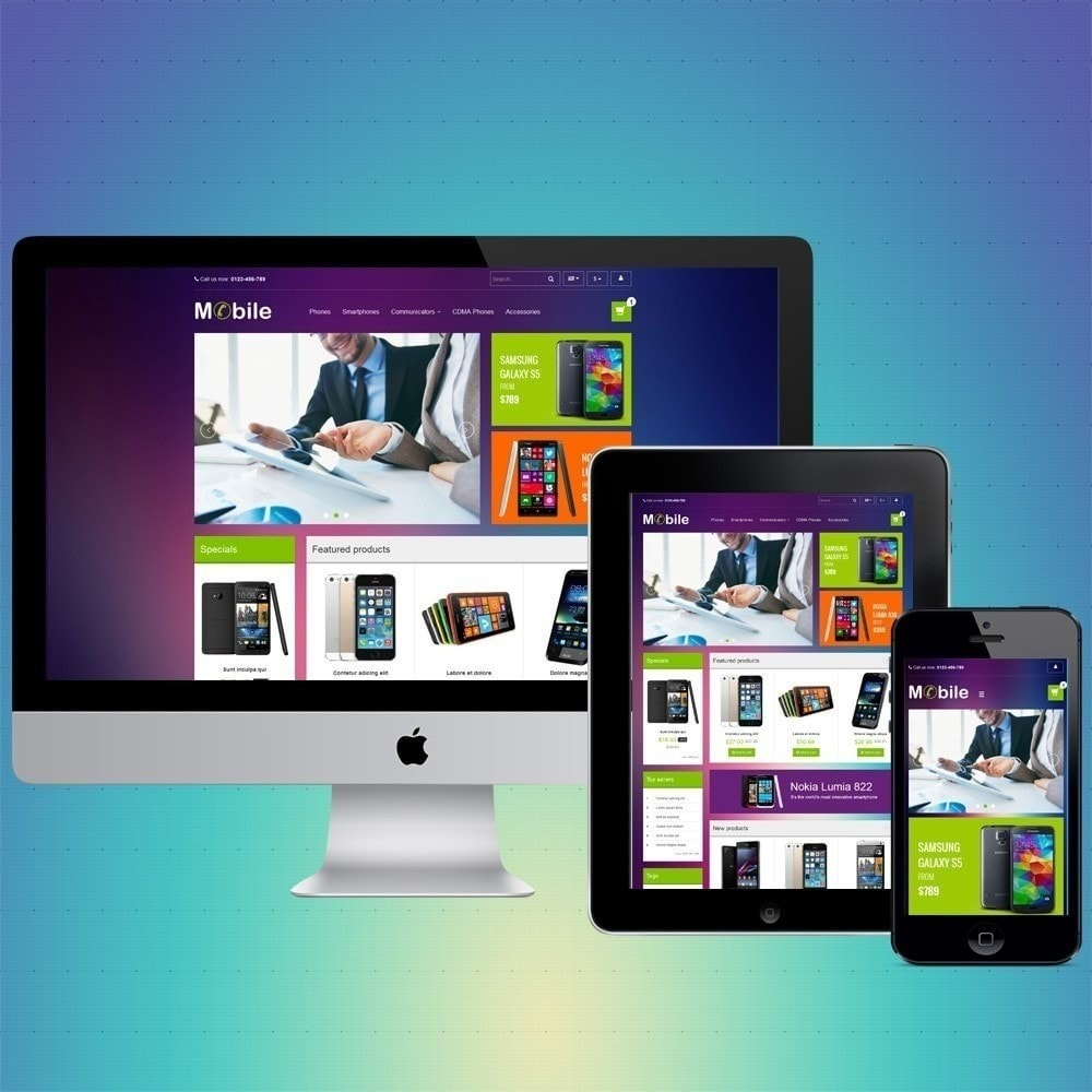 theme - Elettronica & High Tech - VP_Mobile Store - 1