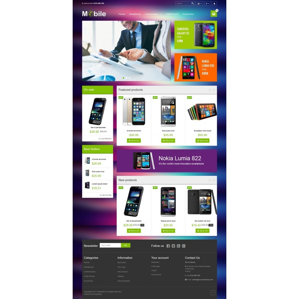 theme - Elettronica & High Tech - VP_Mobile Store - 2